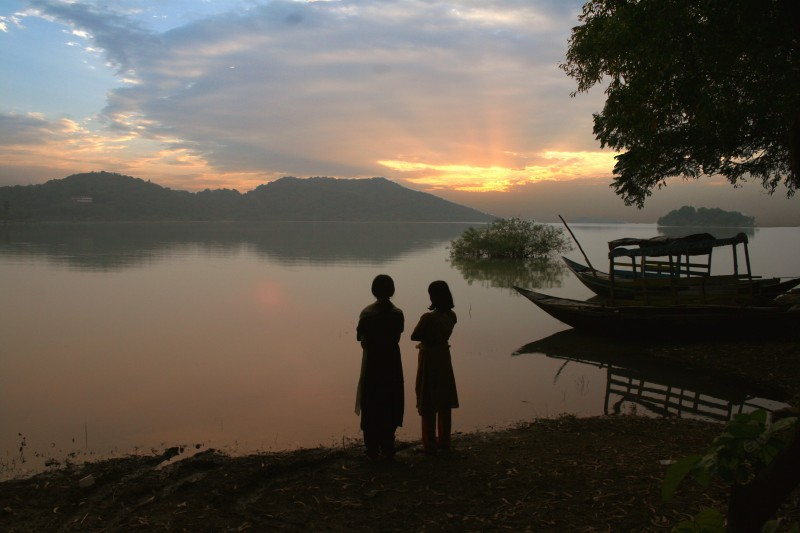 Sunset at Maithon Reservoir DVC