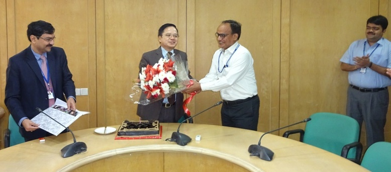 Celebrating birthday of DVC Chairman at DVC Towers on 14/03/2017
